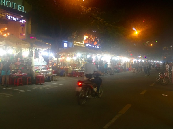 Night market saigon